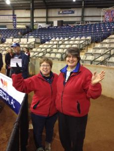Doreen and Janet at Cynosport Nationals 2013