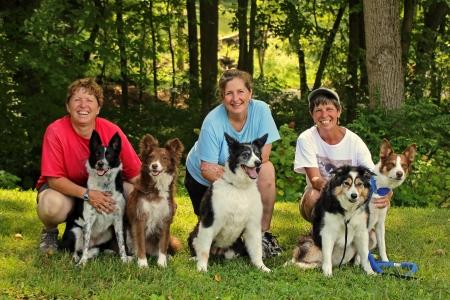 Doreen (Blink and Rosa), Sharon (Gracie), Deb (Cassie, Reba)