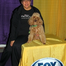 Cindy and Kahlua at Westminster